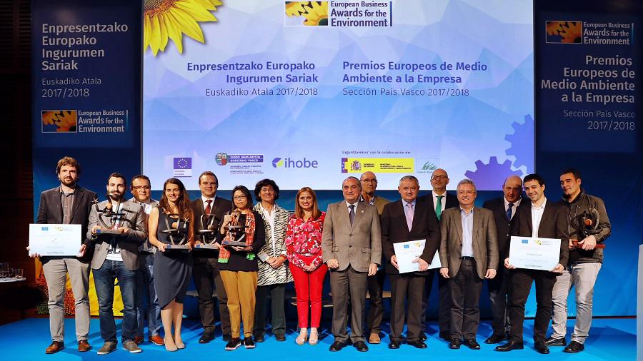 PREMIOS EUROPEOS DE MEDIOAMBIENTE EN EL PAÍS VASCO 2018