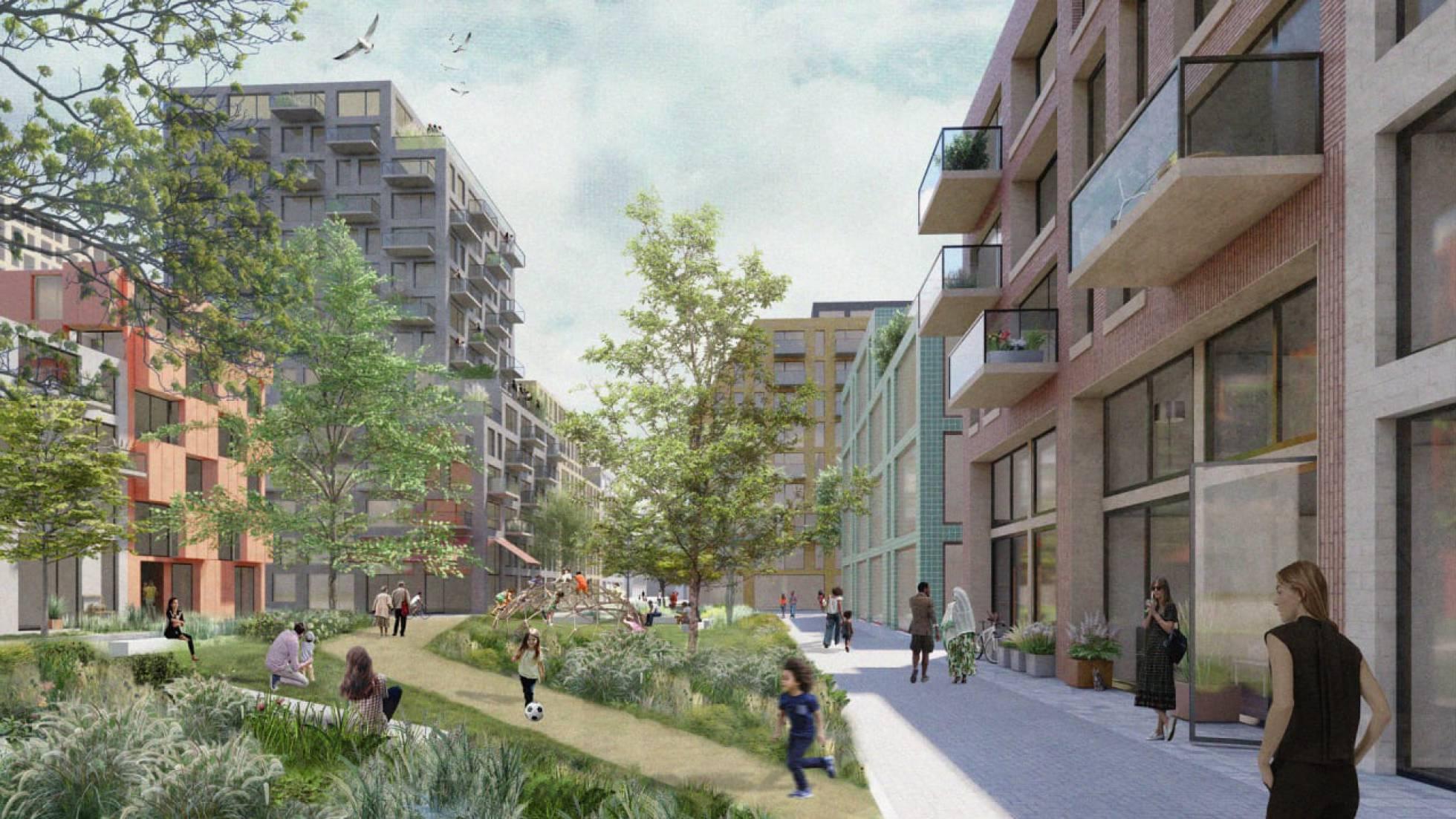 El barrio del futuro: el 80% de las necesidades básicas, a 15 minutos a pie
