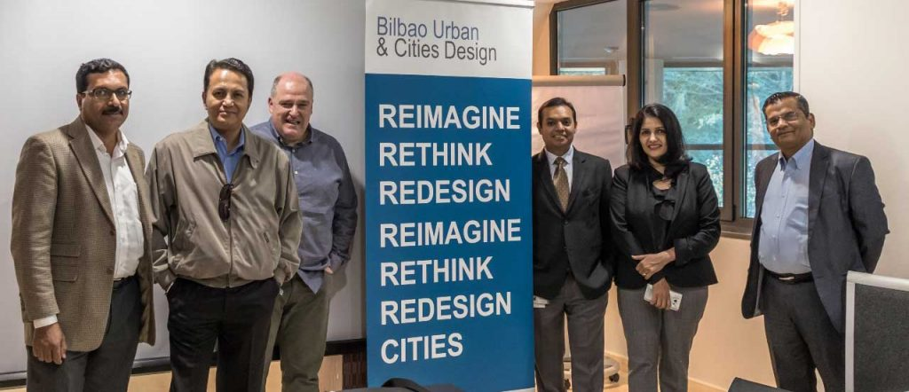 INDIAN SMART CITY DELEGATION VISITS BILBAO