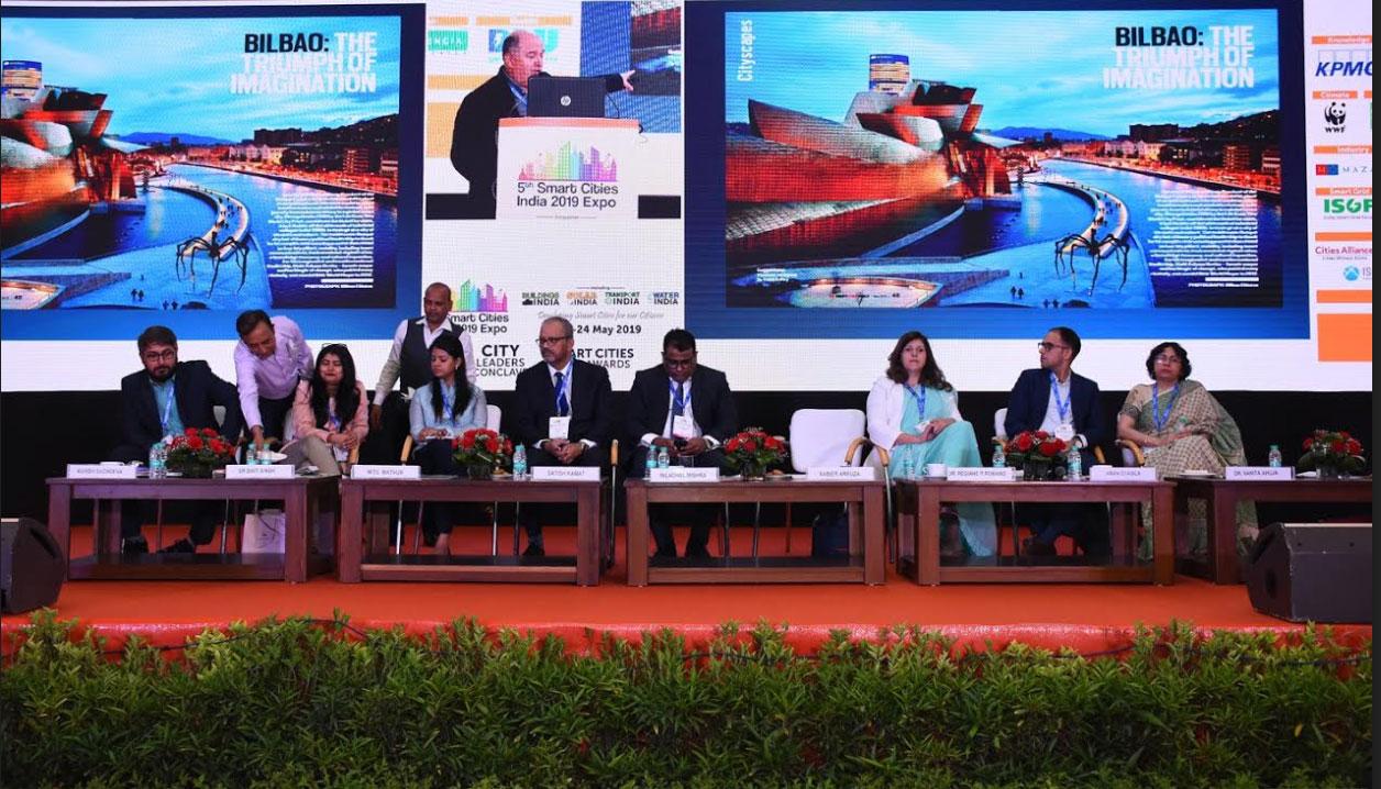 BILBAO URBAN & CITIES DESIGN PRESENTE EN LA SMART CITY INDIA EXPO PROMOVIENDO SU IMAGEN INTERNACIONAL