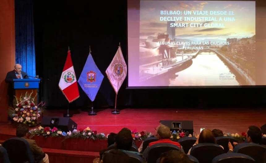 BILBAO URBAN & CITIES DESIGN PRESENTE EN LA I EXPO CIUDADES Y COMUNIDADES SOSTENIBLES DE PERÚ