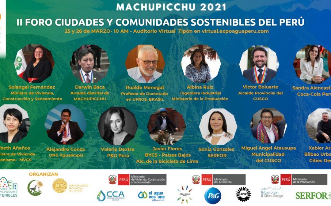 BILBAO URBAN & CITIES DESIGN EN PERÚ POR LAS CIUDADES SOSTENIBLES