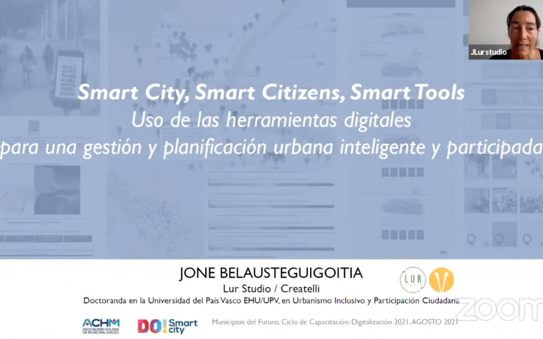 BILBAO URBAN & CITIES DESIGN PARTICIPA EN EL PROGRAMA MUNICIPIOS DEL FUTURO DE DO! SMART CITY CHILE